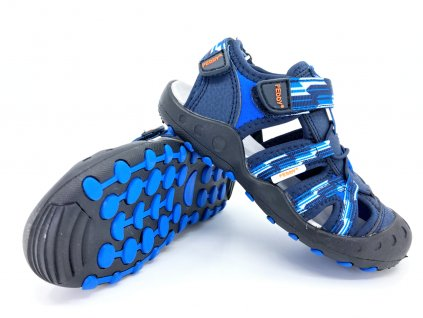 chlapecké sandále Peddy modré