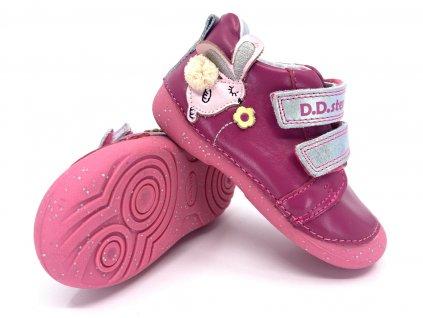 dětské boty DD Step s015 511A Dark Pink