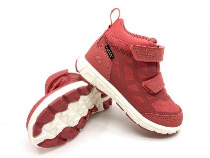 dětské boty Viking Veme Mid R GTX Peach Cream