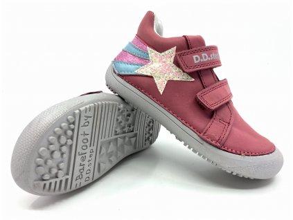 dětské boty DD Step S063 346A Dark Pink