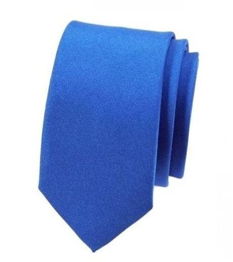 Jednobarevné slim kravaty