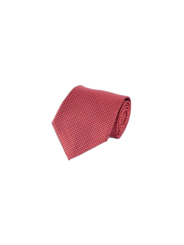 1555 cervena kravata s bilym vzorem (1)