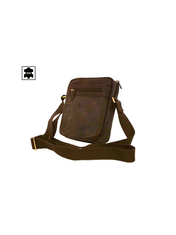 Hnědá pánská taška přes rameno (250587)