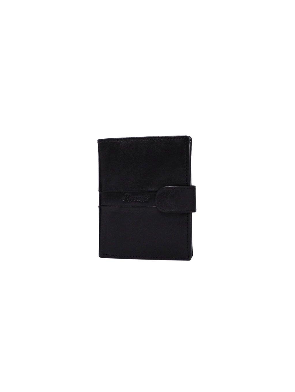 Černá pánská kožená peněženka (3311420_black)