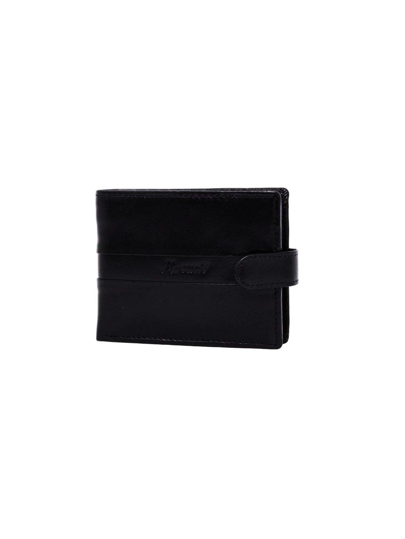 Černá kožená pánská peněženka (3311418_black)
