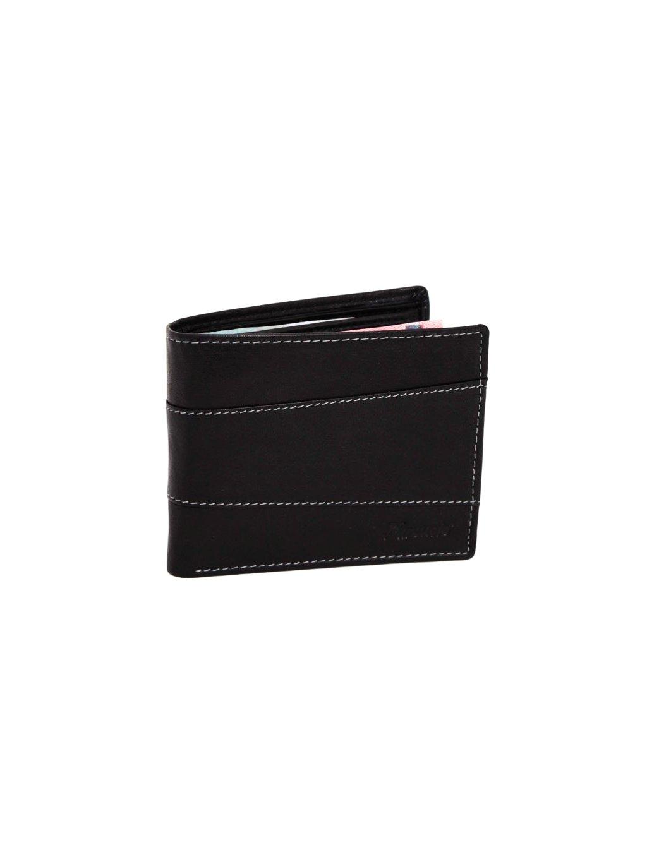 Černá kožená pánská peněženka (3911447_blk)