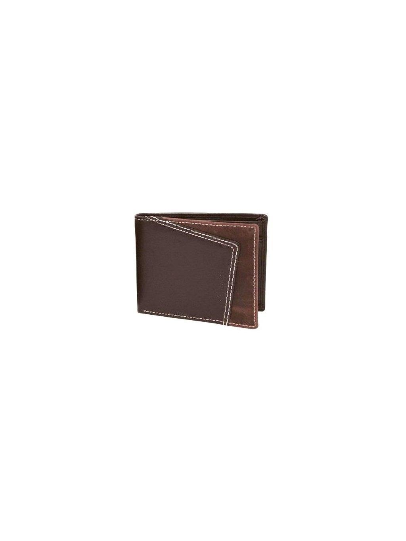 Hnědá kožená pánská peněženka (2511452_d_brn)