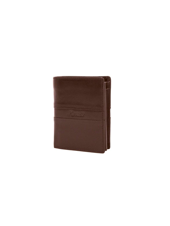 Hnědá kožená pánská peněženka (3311416_d_brn)