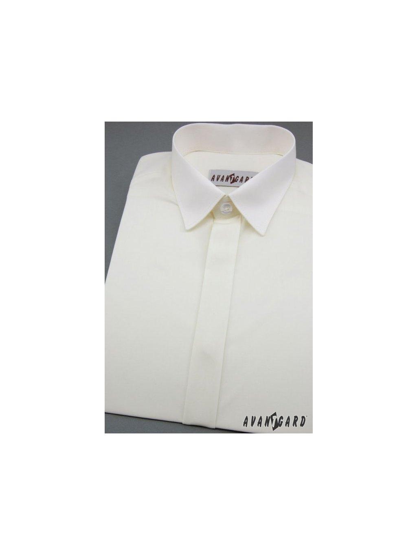 Smetanová chlapecká košile