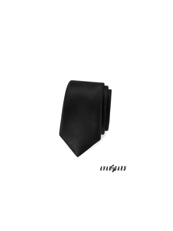 cerna slim kravata avsl9015