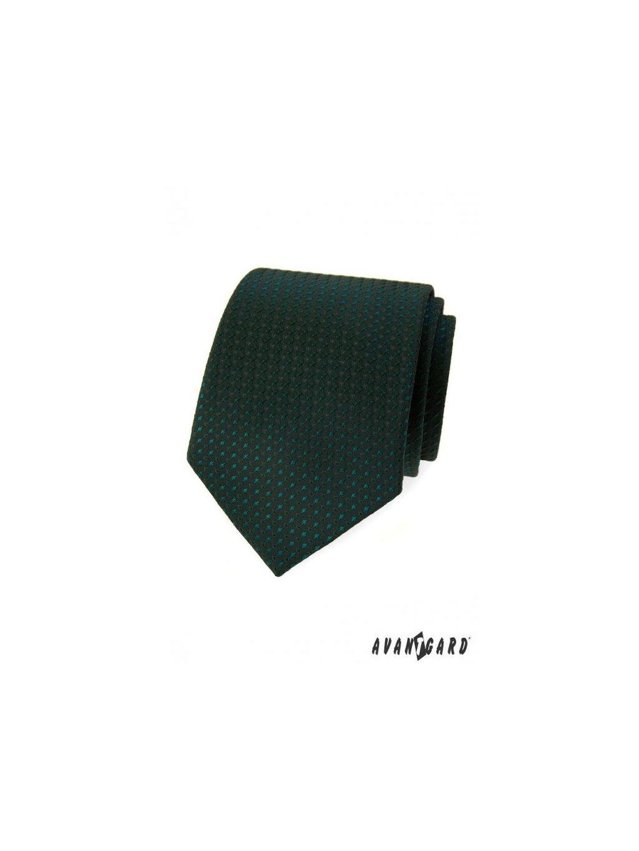 zelena panska kravata se vzorem av2056