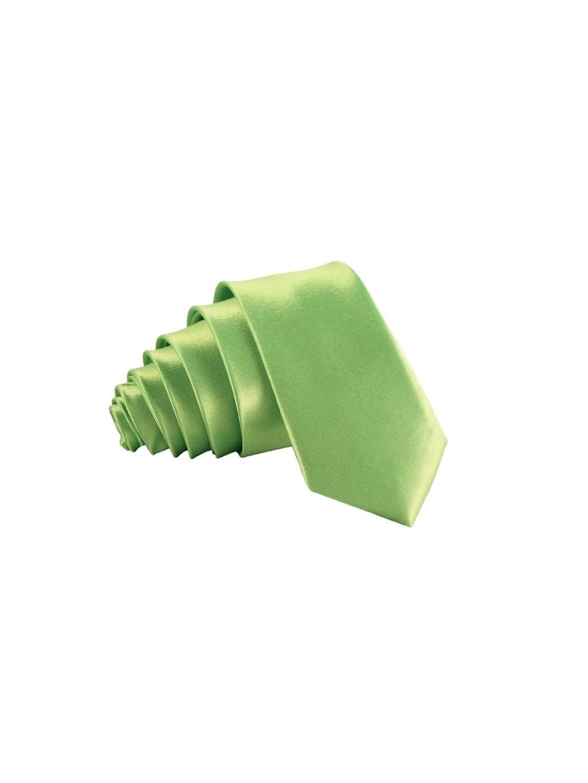 limetkove zelena leskla kravata