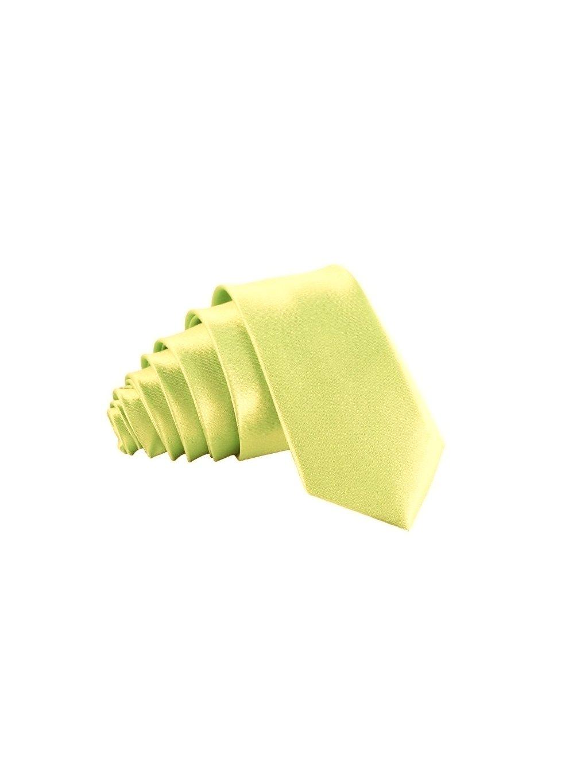 svetle zelenkava slim kravata