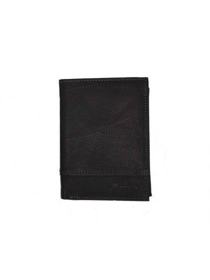 Černá kožená pánská peněženka (2311774)