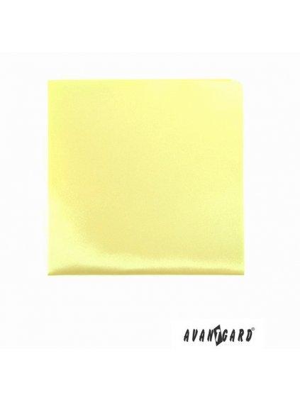 Světle žlutý kapesníček
