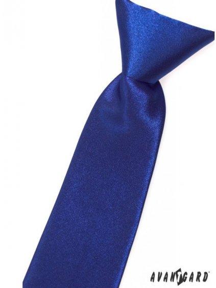 Tmavě modrá dětská kravata