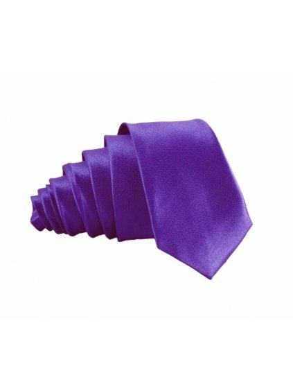 zarive fialova leskla kravata