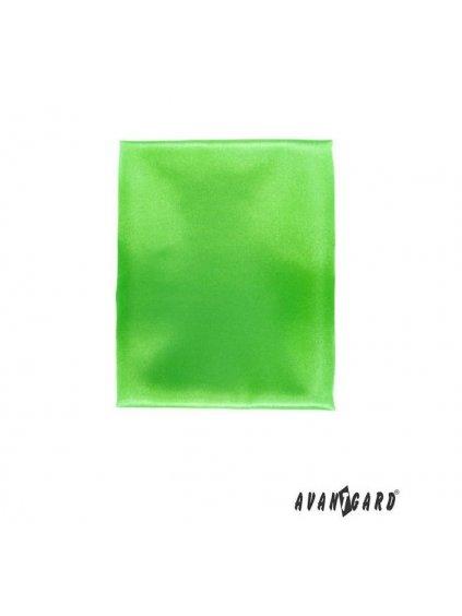 Neonově zelený dámský šátek (50x50 cm)