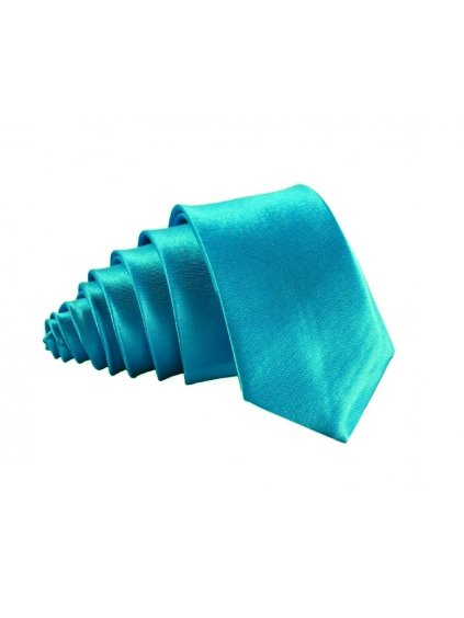 tyrkysova leskla kravata