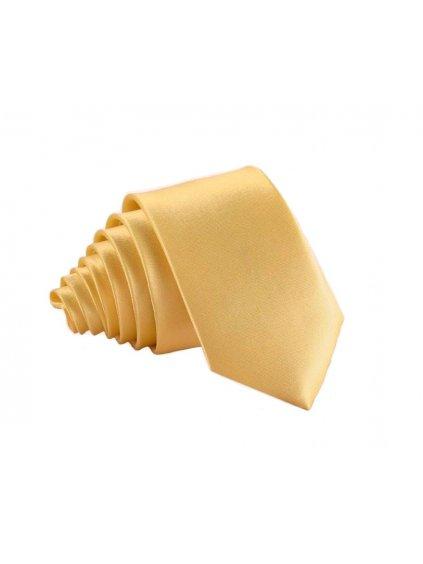 zlateve zluta leskla kravata