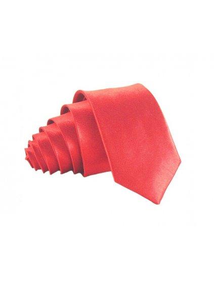 matne cervena leskla kravata