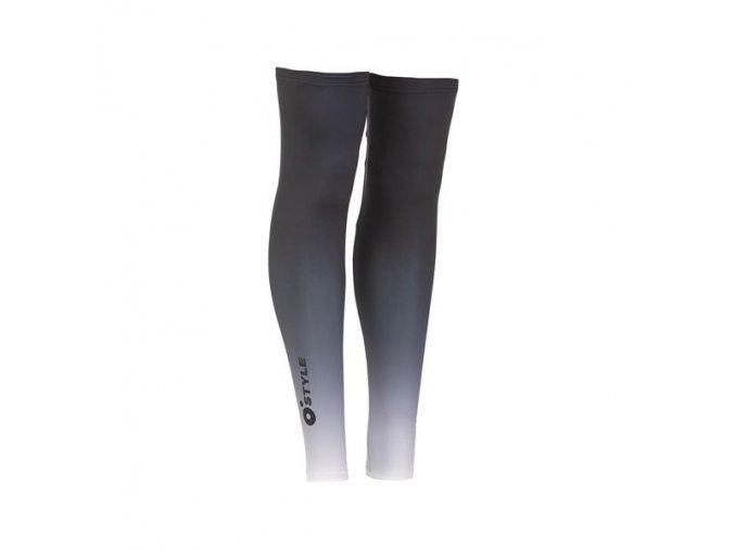 NÁVLEKY NA NOHY WARM LEG černobílé