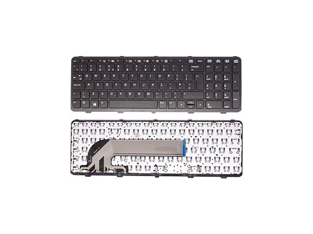 Klávesnica  HP PROBOOK 450 455 470 G0 G1 G2  darček k produktu + SK polepy