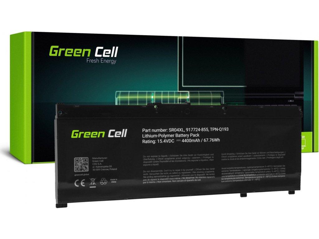 Batéria do notebooku SR04XL pre HP Omen 15-CE 15-DC 17-CB, HP Pavilion Power 15-CB