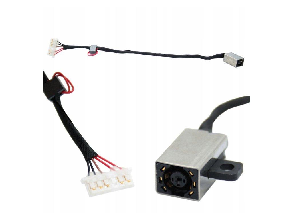 Napájací konektor DC Dell 15 17 5000 P51F 5558 5559 5458 5758