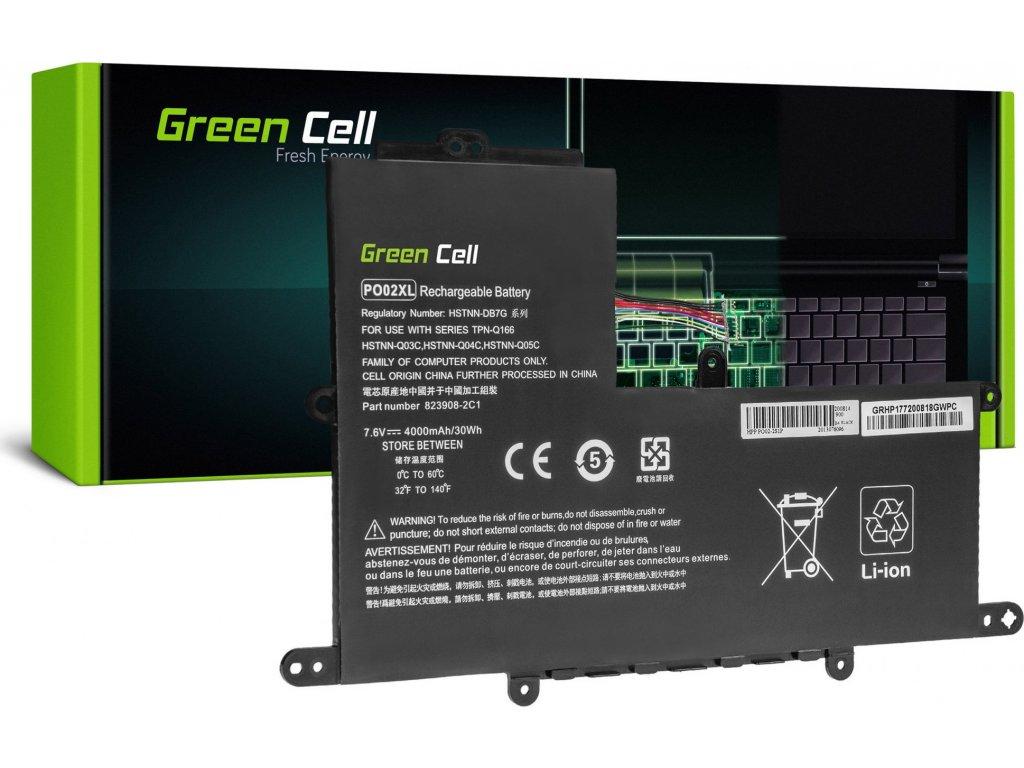 Batéria Akku PO02XL pre HP Stream 11 Pro G2 G3 G4 G5, HP Stream 11-R020NW 11-R021NW 11-Y000NW 11-Y002NW