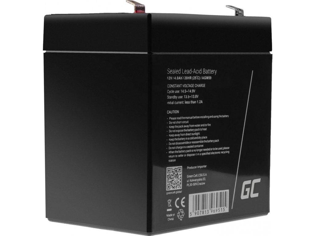 AGM batéria  12V 4.5Ah