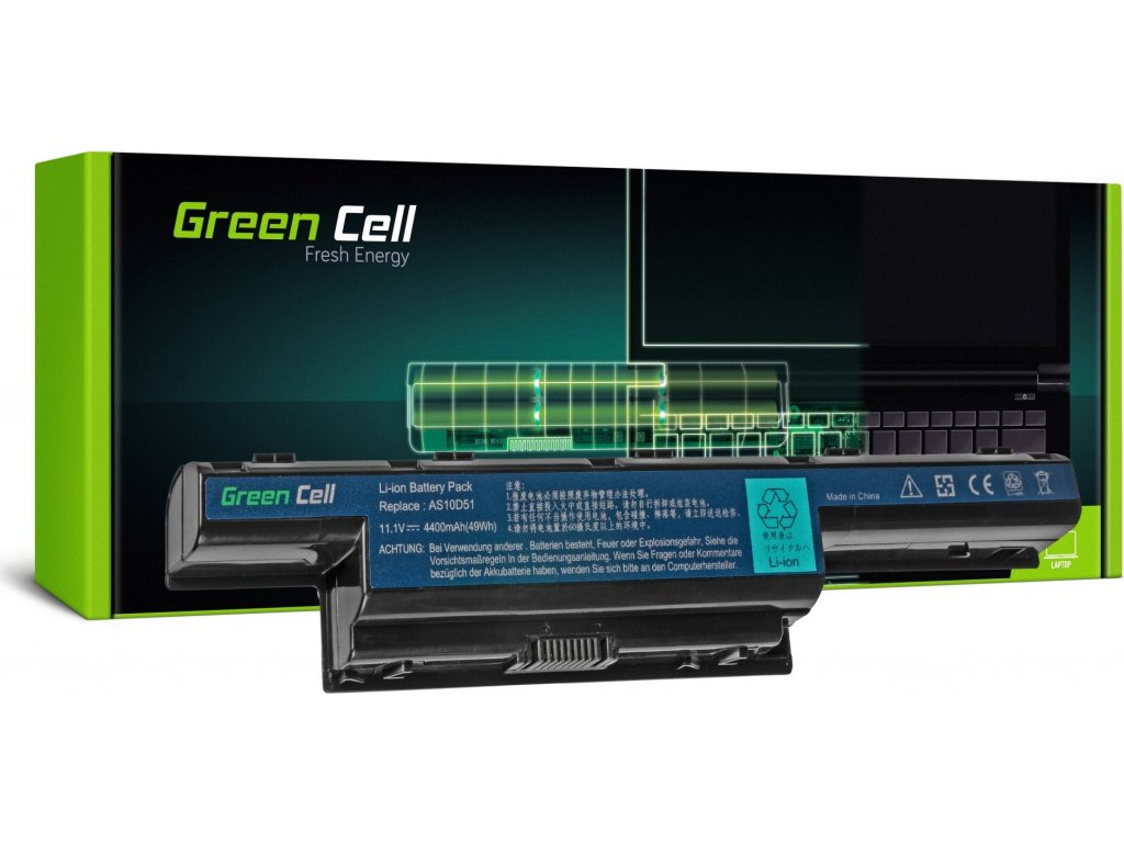 Batéria do notebooku Acer Aspire zo série 5733 5742G 5750 5750G AS10D31 AS10D41 AS10D51 AS10D61 AS10D71 11.1V 6 cell