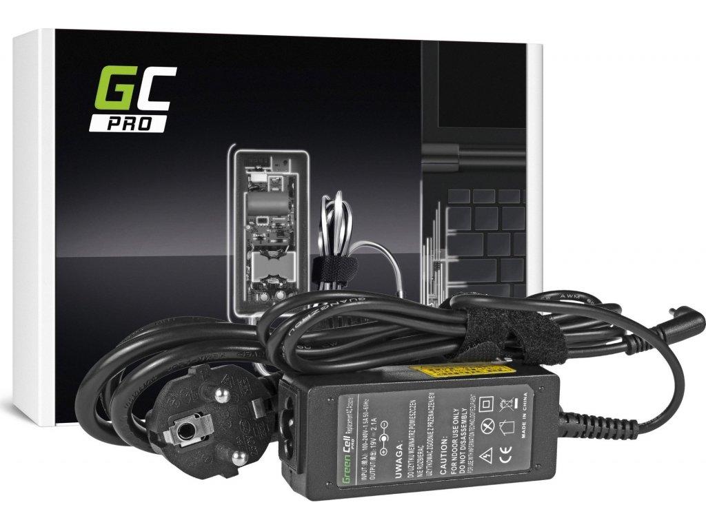 Green Cell PRO Nabíjačka na notebook Samsung NP300U NP530U3B-A01 NP900 19V 2.1A