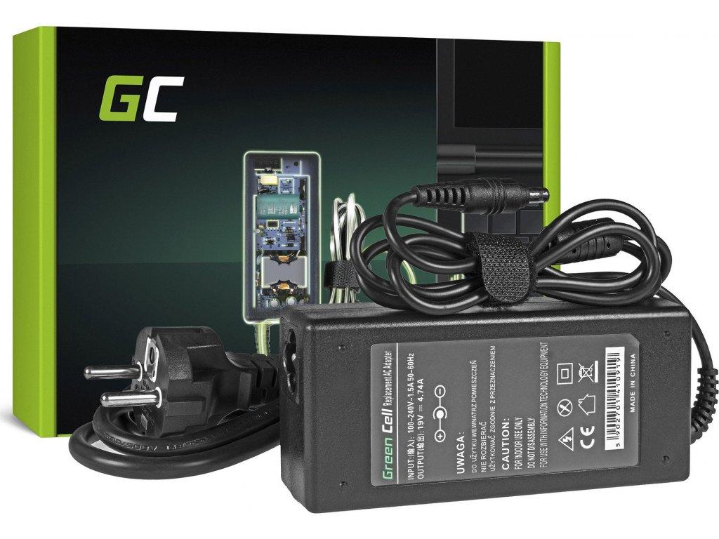 Nabíjačka Green Cell 90W do Samsung zo série R505 R510 R519 R520 R720 RC720 R780 19V 4.74A