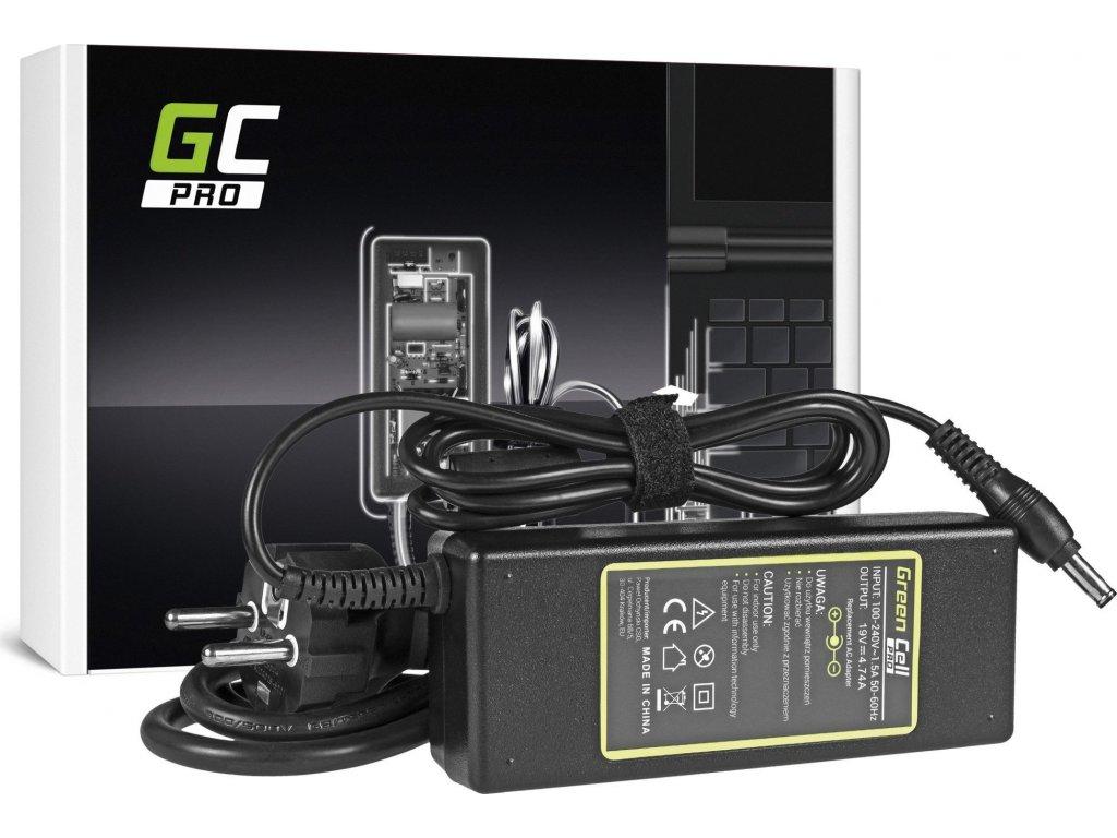 Green Cell Pro Nabíjačka na notebook Samsung R505 R510 R519 R520 R720 RC720 R780 19V 4.74A