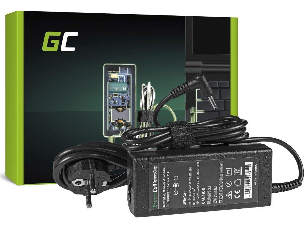 Nabíjačka Green Cell ® 19.5V 2.31A na notebook HP Pavilion 11 14 15 x360