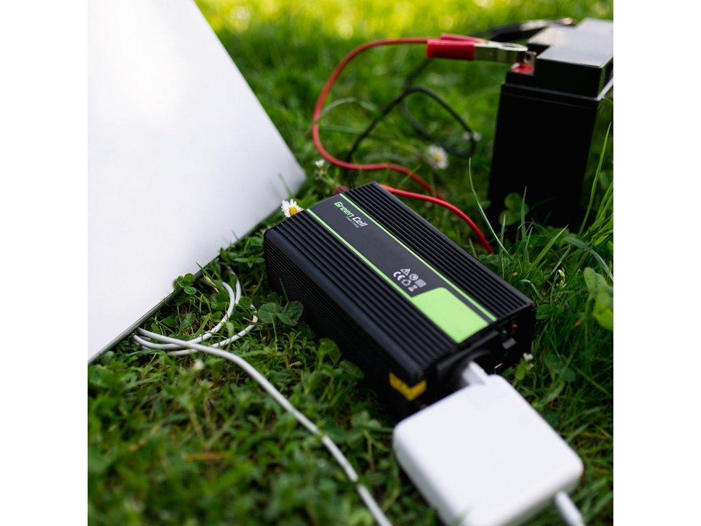 przetwornica napiecia green cell zasilacz ups do piecow i pomp centralnego ogrzewania 300w