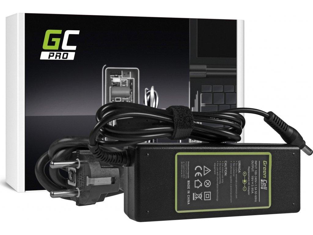 Nabíjačka Green Cell PRO na notebook Toshiba Satellite C660 C850 L300 L650 Equium A200 L300 Acer TravelMate 650 655 19V 3.95A