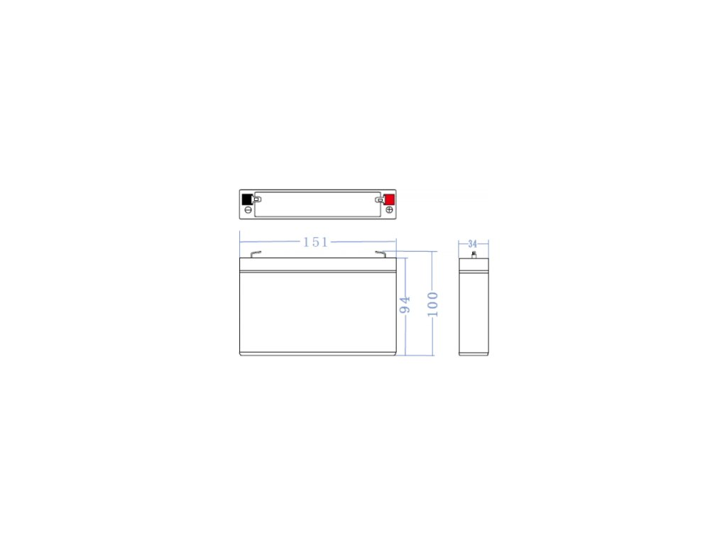 Batéria AGM Green Cell 6V 7Ah