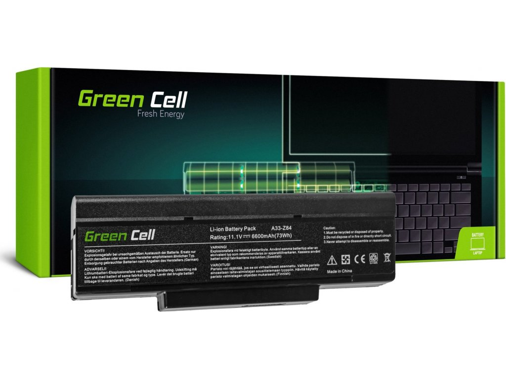 Batéria do notebooku Asus A32-F3 A9 F2 F3SG F3SV X70 SQU-503 SQU-511 SQU-524 11.1V 9 cell
