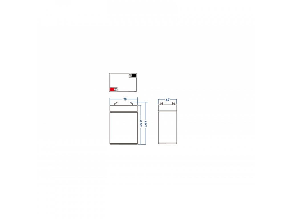 Batéria AGM Green Cell 6V 4.5Ah