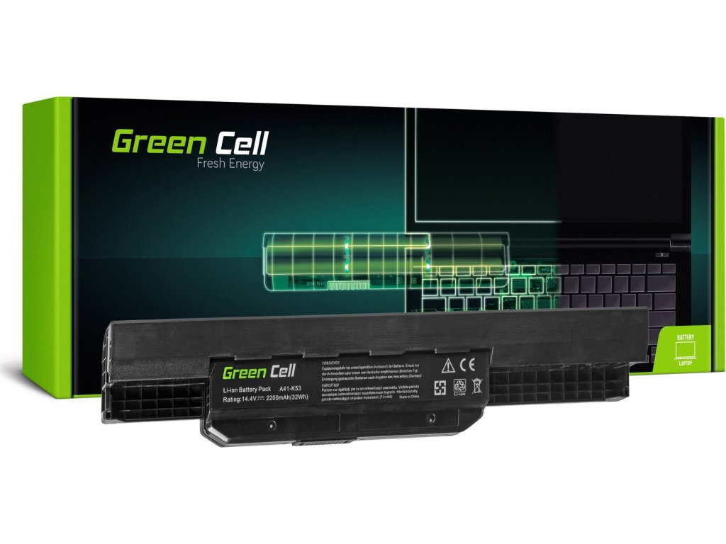 Batéria do notebooku Asus A43 A53 K43 K53 X43 A32-K53 A42-K53 14.4V 4 cell