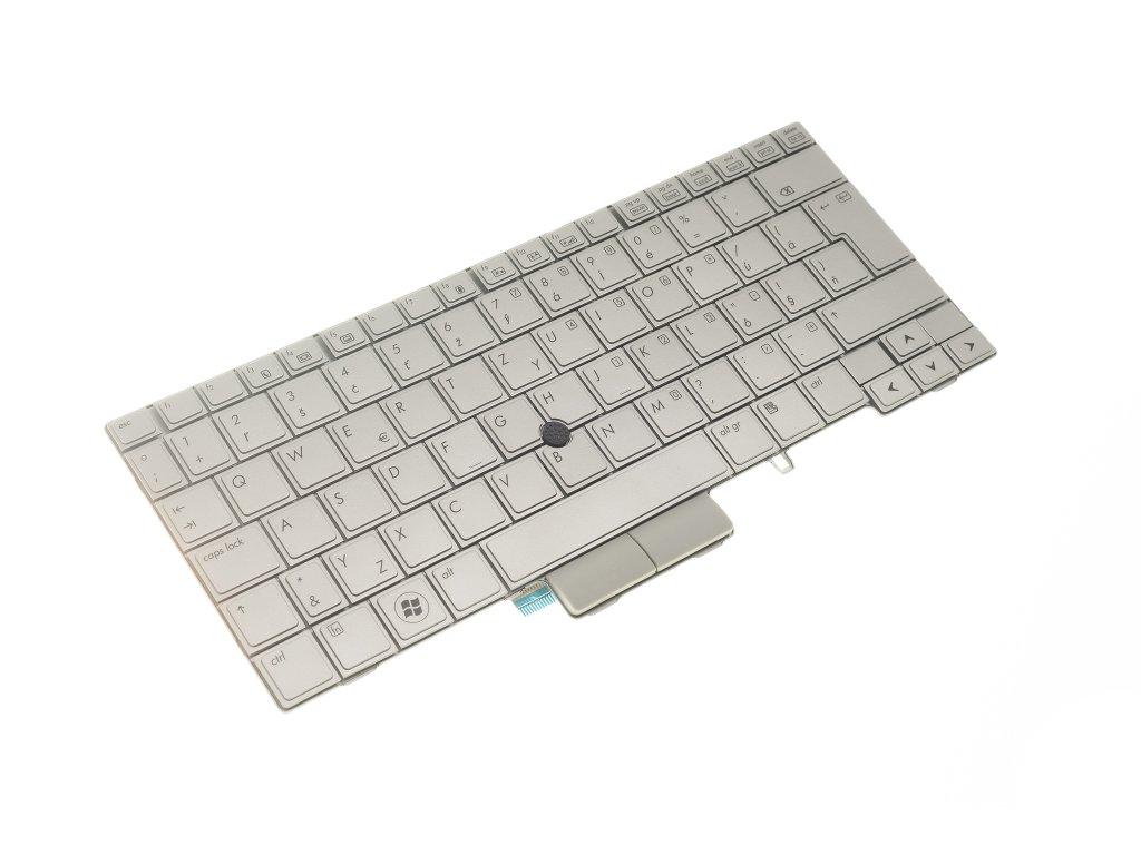 Klávesnica HP Elitebook 2730 2740 2760 2710p 2530P silver SK MP 09B66CB6442 1