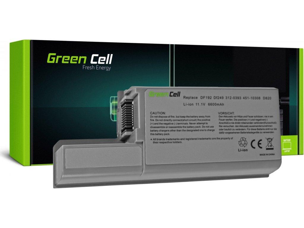 Batéria do notebooku Dell Latitude XF410 YD632 D531 D531N D820 D830 11.1V 9 cell