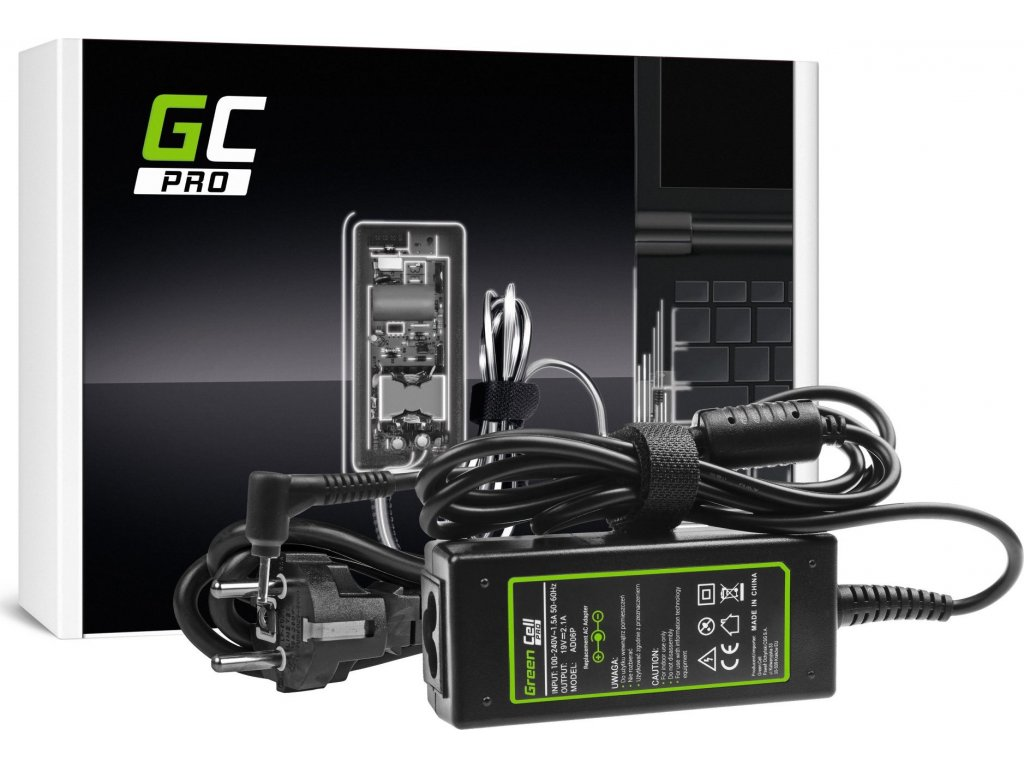 PRO AC nabíjačka Asus Eee PC 1001HT, 1001P, 1001PG, 1001P-MU17-BK 19V 2.1A 40W