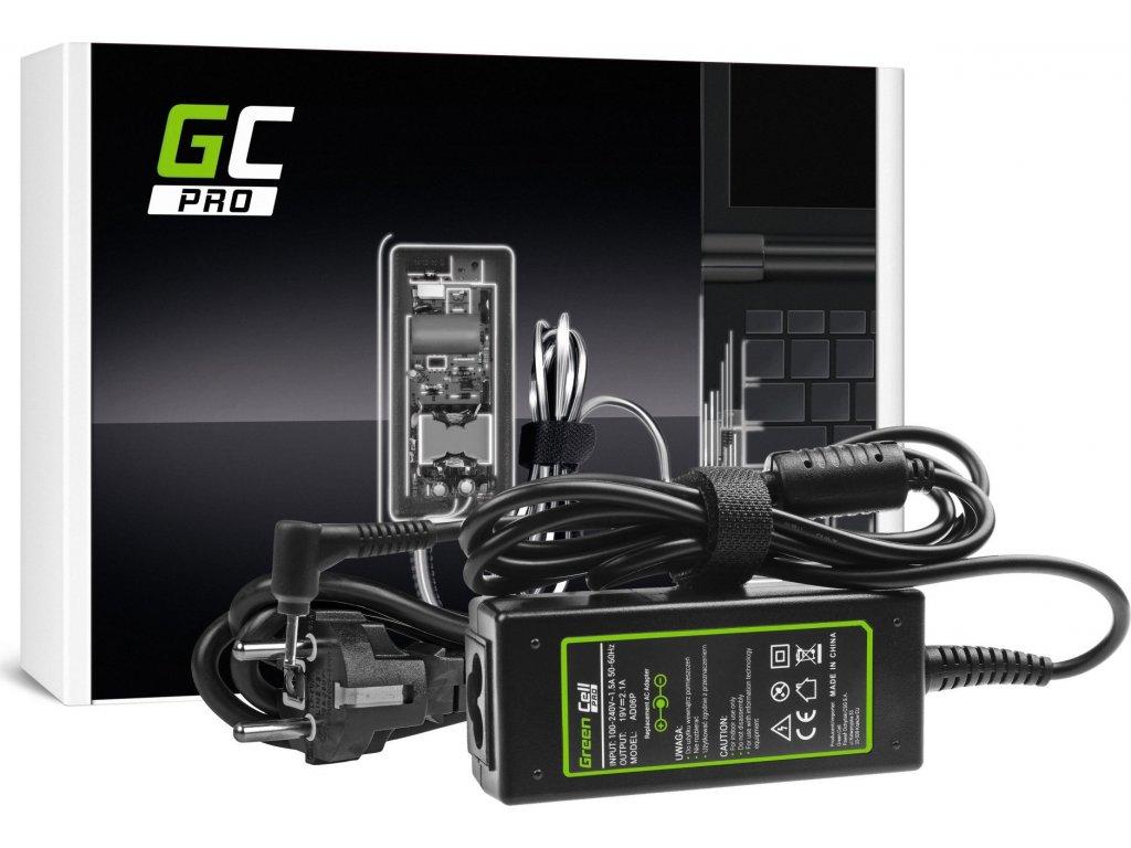 PRO AC nabíjačka Asus Eee PC 1001P-MU17-BU, 1001P-MU17-PI, 1001P-MU17-W, 1001PQ 19V 2.1A 40W