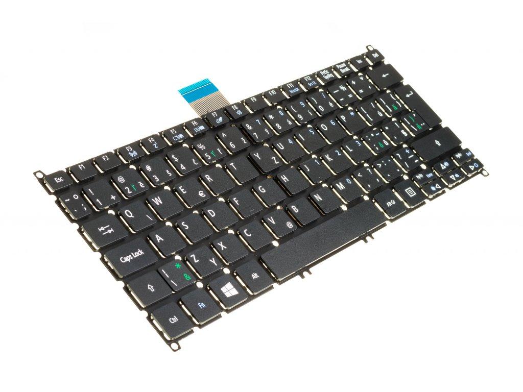 8150 09701 SK CZ Klávesnica na notebook ACER ASPIRE V5 122 V5 132 V3 371 E3 111