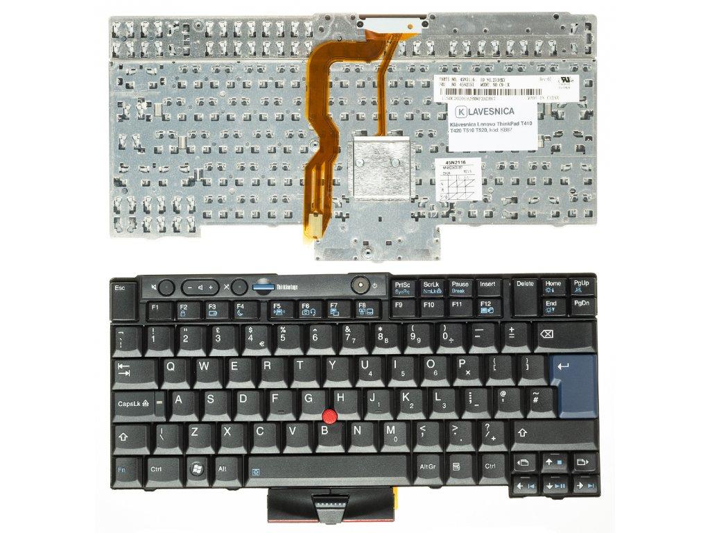 Klávesnica Lenovo ThinkPad T410 T420 T510 T520