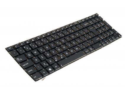 8150 2944 klávesnica na notebook Asus N56 N56V U500VZ N76 R500V R505 S550C black CZ noframe 1
