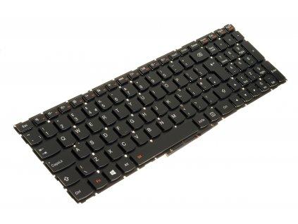 7385 klávesnica na notebook Lenovo Yoga 500 15 500 15IBD 500 15ISK black no frame podsvetená 5